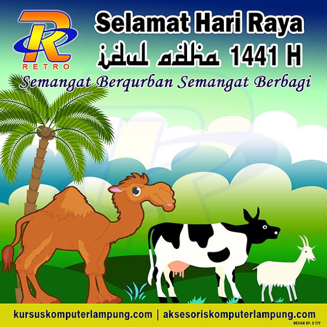 Selamat Idul Adha 1441H   Retro Komputer