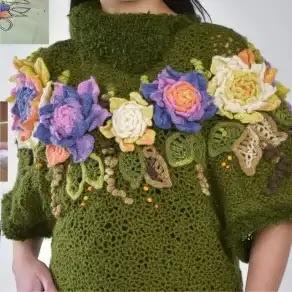Cómo Decorar Blusa a Crochet