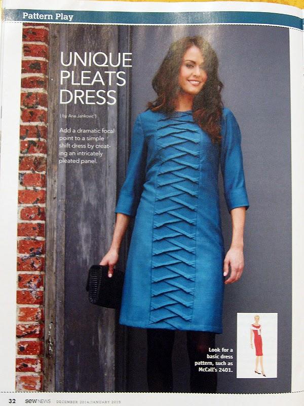 Štepalica: Sirena haljina u Sew News časopisu