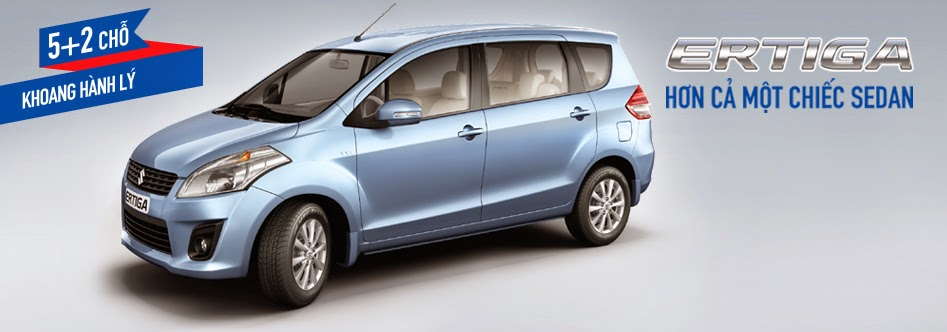 Lý do bạn chọn mua Suzuki Ertiga dòng xe 5+2 của Suzuki