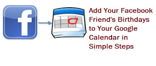 How to import Facebook birthdays to Google calendar