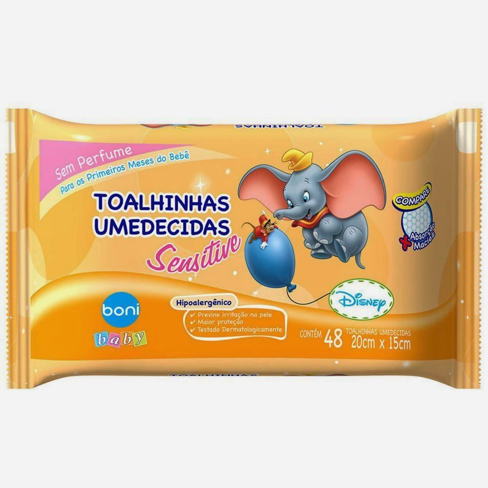 Toalhinhas Umedecidas Sensitive Boni Baby