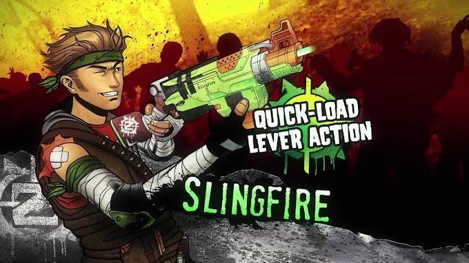 Cùng súng Nerf Zombie Strike hòa mình vào thế giới đầy thây ma
