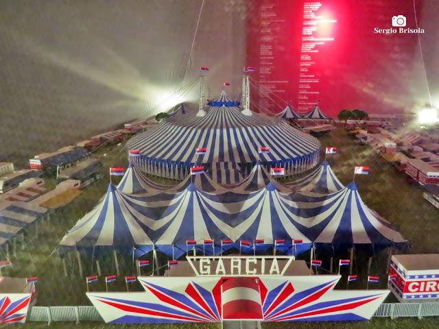 Close-up de exposição do Centro de Memória do Circo - Centro - São Paulo