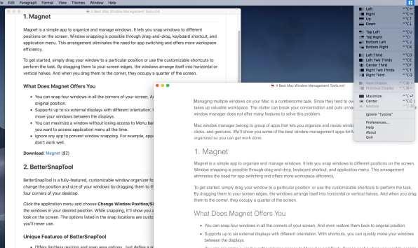 Alat Manajemen Jendela Mac Terbaik