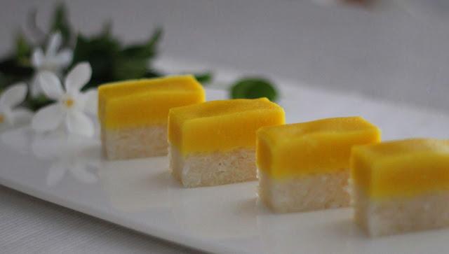 Resipi Kuih Seri Muka Durian