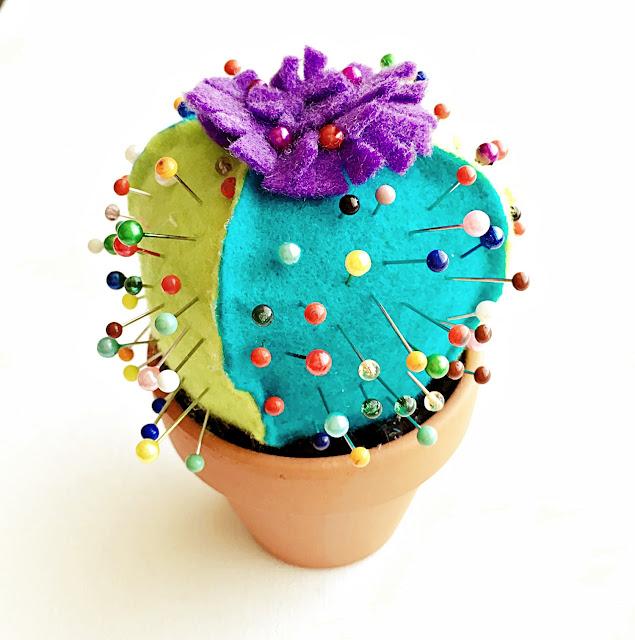 DIY kaktus na szpilki