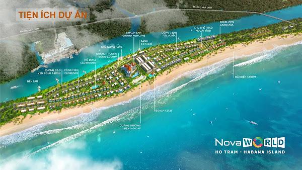 hệ thống tiện ích nội khu trong dự án Habana Island