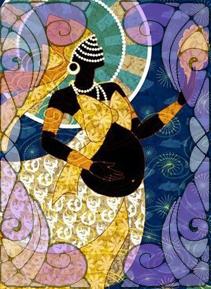 Illustration of Oxum | Wicca, Magic, Witchcraft, Paganism