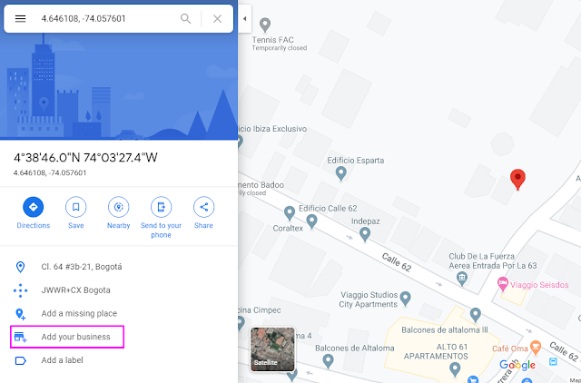 mapas digitales
