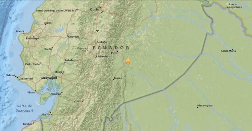 TEMBLOR EN ECUADOR: Fuerte Sismo de Magnitud de 5.6 en Pastaza (Hoy Miércoles 31 Enero 2018) Terremoto EPICENTRO Puyo - USGS - www.igepn.edu.ec