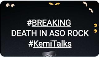 "DEATH IN ASO ROCK: ""Buhari's Top member of Cabinet Has Died As a result of Coronavirus disease "" - Kemi Olulunyo reveal"
