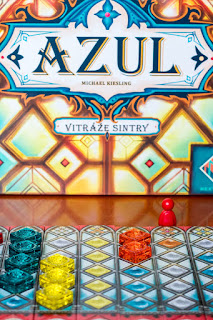 recenze hry Azul vitráže Sintry