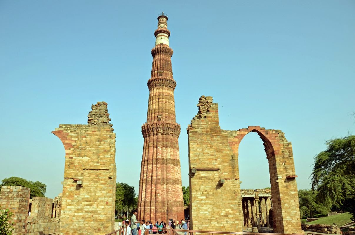 Qutab Minar One of the Historical Place of Delhi ...