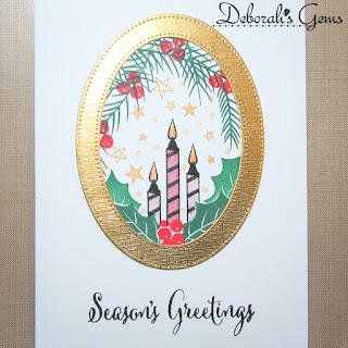 Season's Greetings sq - photo by Deborah Frings - Deborah's Gems