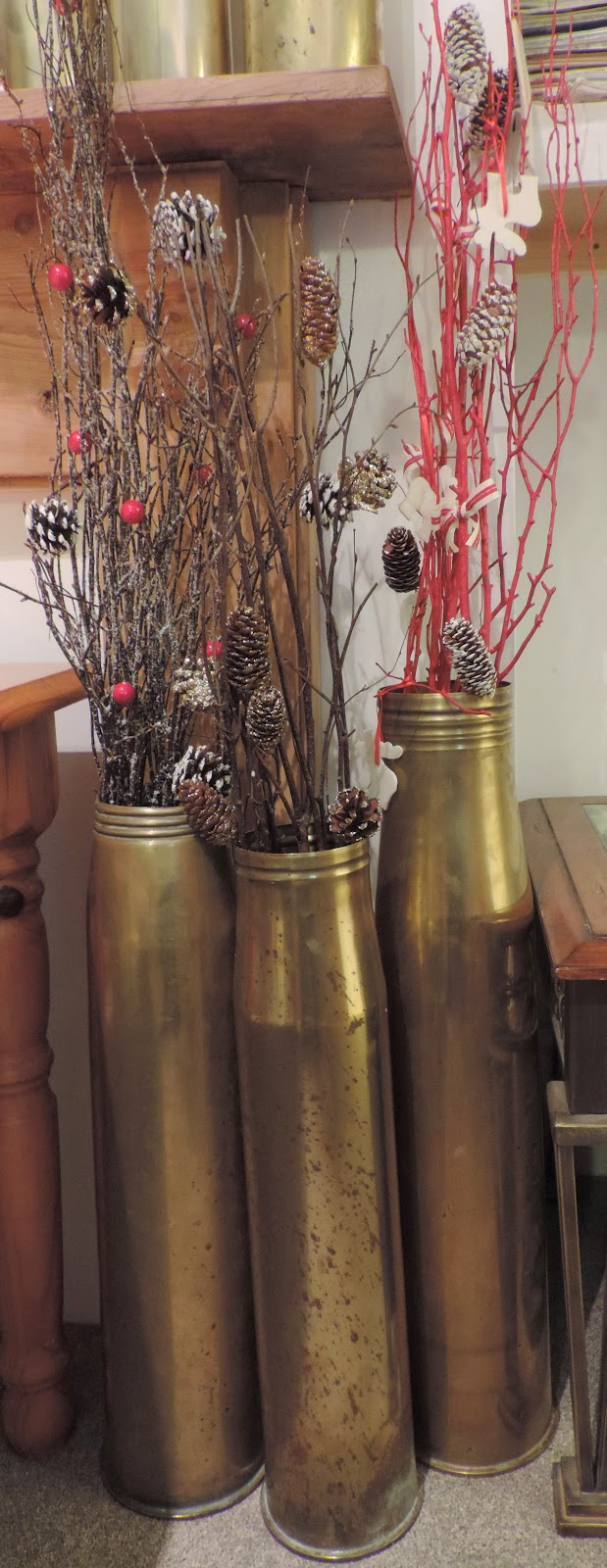 105 mm shell 4.5 inch naval shell casings