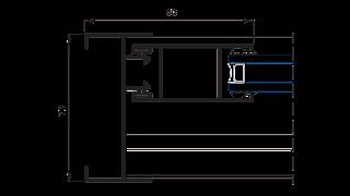 Sistema 5000 Corredera Doble con RPT