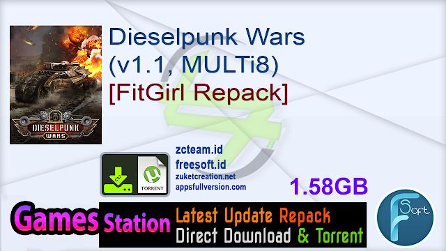 Dieselpunk Wars (v1.1, MULTi8) [FitGirl Repack]