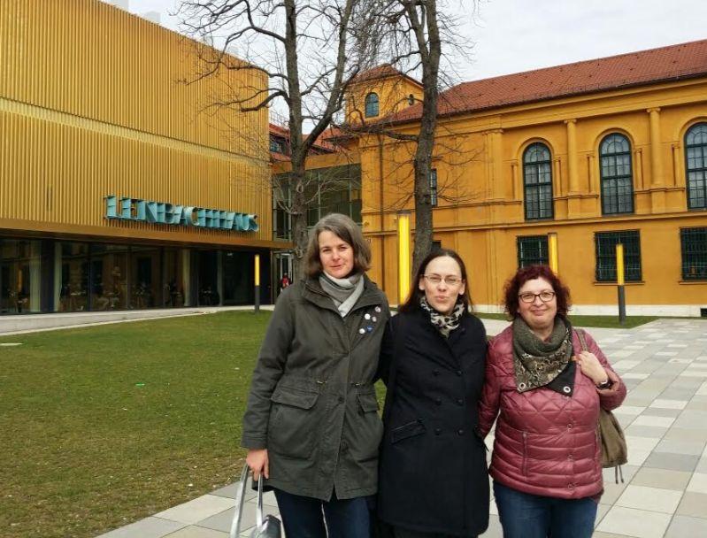 Bloggertreffen mit Ela und Ursula in München Königsplatz