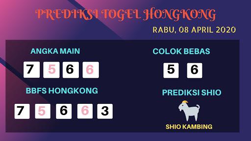 Prediksi Togel Hongkong Rabu 08 April 2020 - Prediksi Angka HK