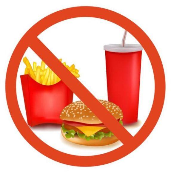 pantang bersalin makanan elak fast food