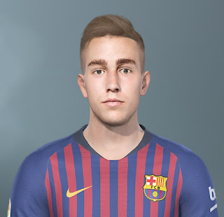 PES 2019 Faces Oriol Busquets by The White Demon