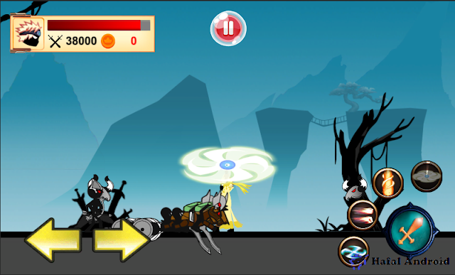 Game Stickman Ninja Android
