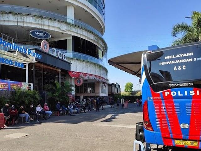 Jadwal Layanan SIM Keliling Polrestabes Bandung Bulan April 2021