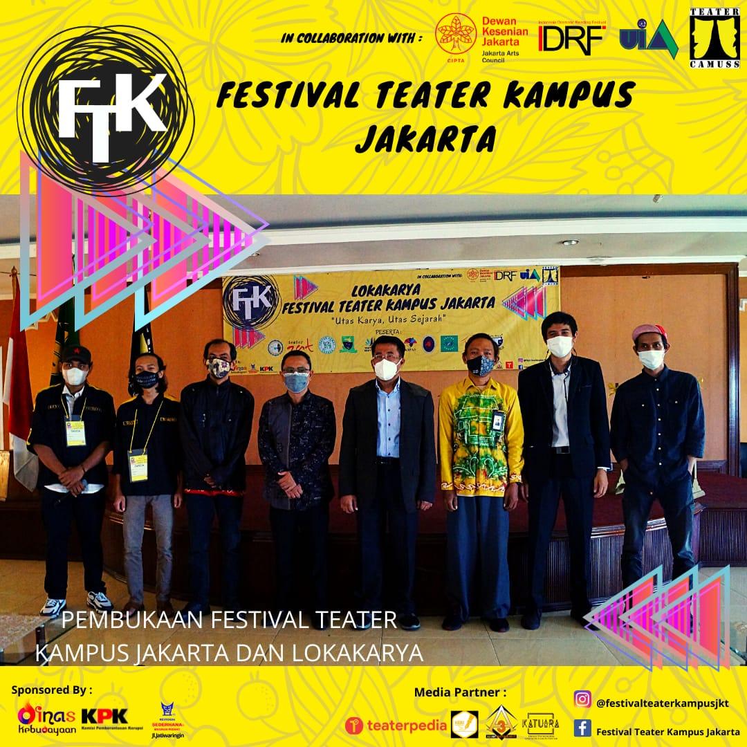 Festival teater kampus Jakarta 2021