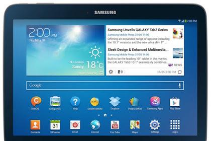 Cara Flashing Samsung Galaxy Tab 3 GT-P5210 dengan Mudah