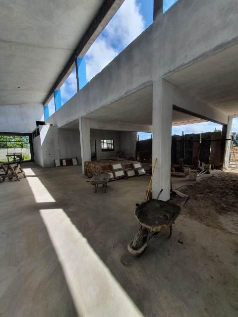 Em fase final, creche escola no balneário Porto Velho será entregue em abril
