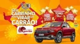 Promoção Gavião Supermercado 2019 Carro 0KM Seu Carrinho de Compras Pode Virar um Carrão
