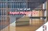 List of 700 English Phrasal Verbs explained with examples