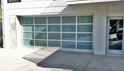 custom glass garage doors