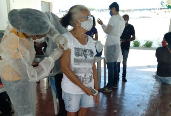 Dia D: Cacimba de Areia vacina contra Influenza