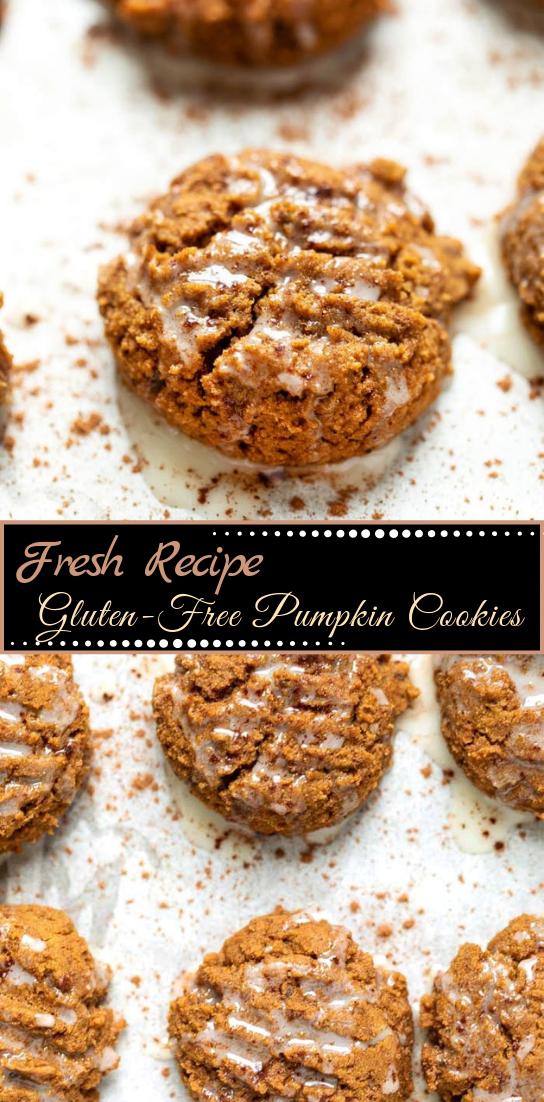 Gluten-Free Pumpkin Cookies #desserts #cakerecipe #chocolate #fingerfood #easy