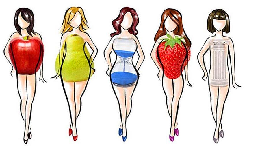 Herkesin vücut biçimi farklıdır