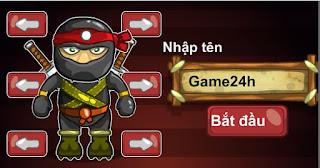 Game ninja lùn hấp dẫn