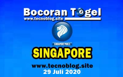 Bocoran Togel SGP 29 Juli 2020