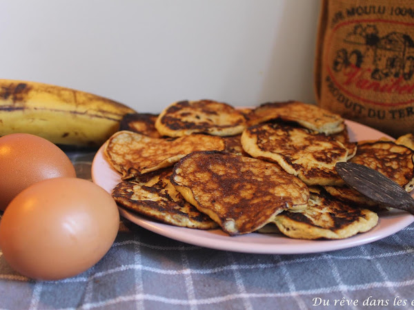 Recette : Pancakes sans farine ni sucre ajouté