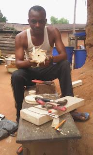 Nigerian technician