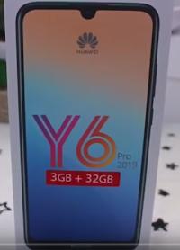 Huawei Y6 Pro 2019 prix et les spécifications
