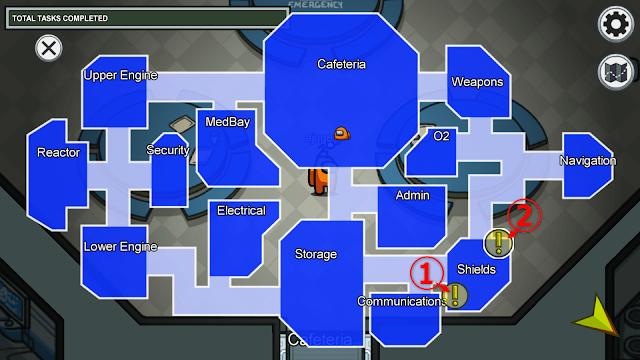 Shields(シールドルーム)のタスクマップ説明画像