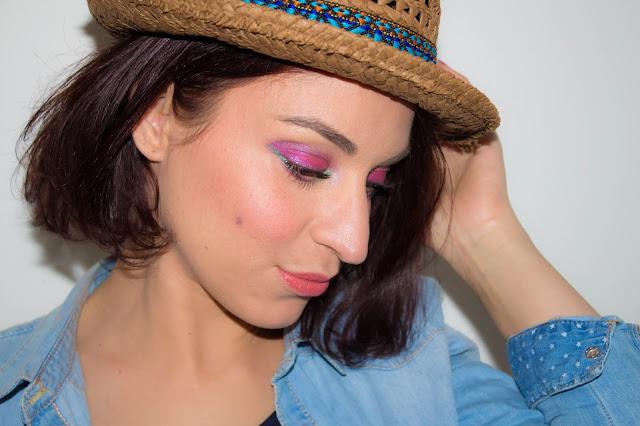 Un maquillage coloré pour l'arrivée du printemps 💕 | MSC