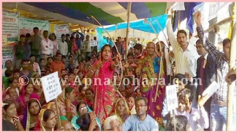 लोहार समुदाय द्वारा भूख हड़ताल, गर्दनीबाग पटना बिहार
