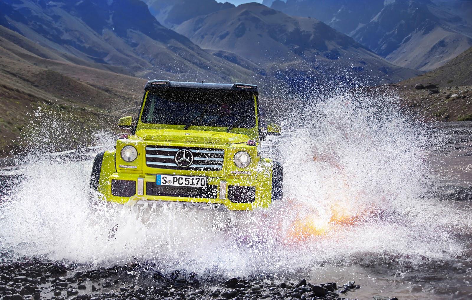 Mercedes Benz G500 4x4 sẽ được bán tại Mỹ?