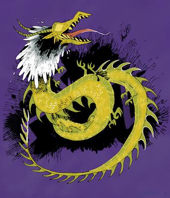 A Storm Serpent screaming.