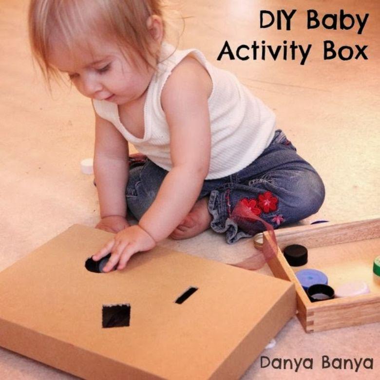activities for babies - diy baby activity box