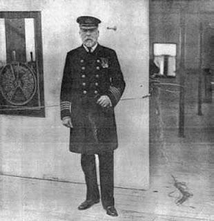 The Titanic, UK History, Captain E J Smith