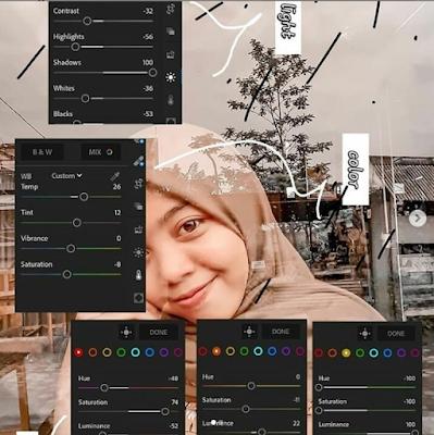 Rumus Lightroom CC Android Terkeren